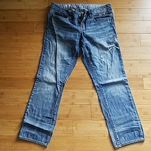 Gap Real Straight ankle jeans